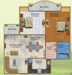 1310 sqft, 2 bhk Apartment in JNC Princess Park Ahinsa Khand 2, Ghaziabad at Rs. 70.0000 Lacs