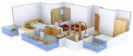1015 sqft, 2 bhk Apartment in Skytech Matrott Sector 76, Noida at Rs. 15000