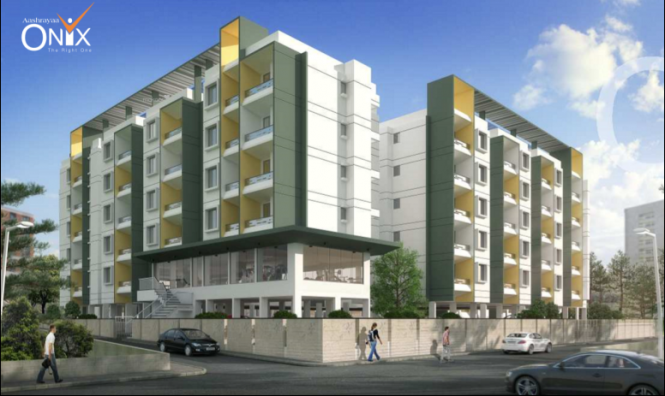 1152 sqft, 2 bhk Apartment in Aashrayaa Onyx Begur, Bangalore at Rs. 52.3246 Lacs
