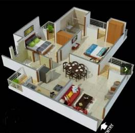 980 sqft, 2 bhk Apartment in Antriksh Galaxy Zone L Dwarka, Delhi at Rs. 38.5000 Lacs