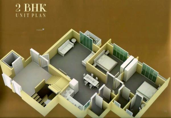 1305 sqft, 2 bhk Apartment in Builder rajhans stadium residency Palanpur Canal Road, Surat at Rs. 43.0650 Lacs