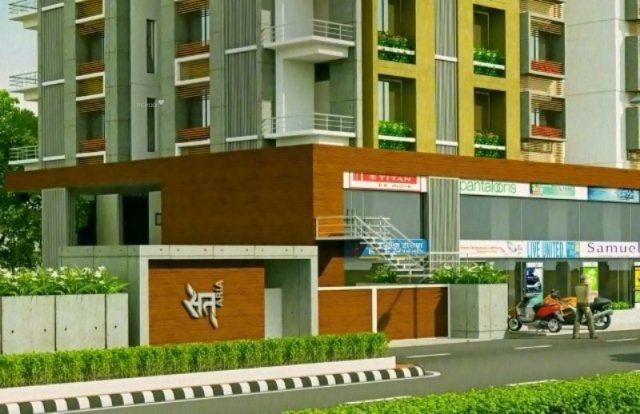 1665 sqft, 3 bhk Apartment in Sat Aria Adajan, Surat at Rs. 55.7775 Lacs
