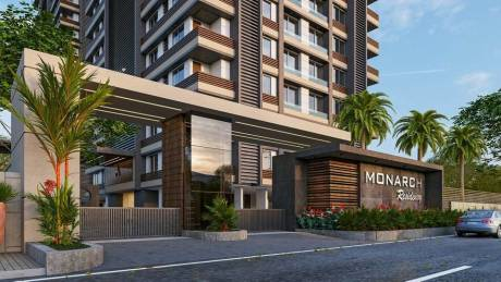 1705 sqft, 3 bhk Apartment in Builder Monarch Residency Palanpur, Surat at Rs. 60.5446 Lacs