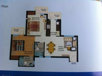 1100 sqft, 2 bhk Apartment in Builder osb group sec 69 Golf Course Extension Road, Gurgaon at Rs. 22.9000 Lacs