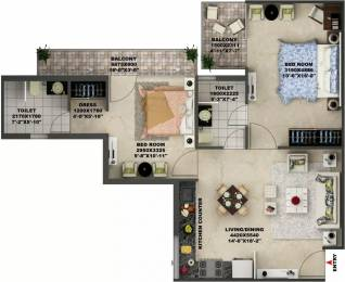 825 sqft, 2 bhk Apartment in AVL AVL 36 Sector 36A, Gurgaon at Rs. 36.0000 Lacs