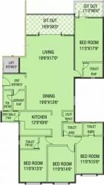 2630 sqft, 4 bhk Apartment in Aswani Rosary Sopan Baug, Pune at Rs. 2.3000 Cr
