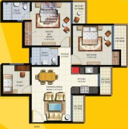 1125 sqft, 2 bhk Apartment in Anthem French Apartments Sector 16B Noida Extension, Greater Noida at Rs. 41.0000 Lacs
