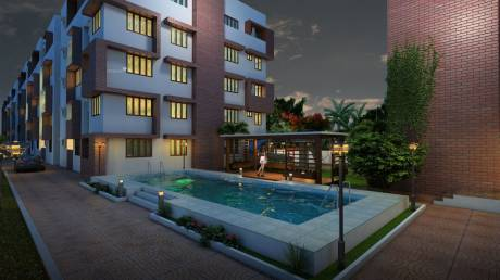1122 sqft, 2 bhk Apartment in Infrany Trinity Electronic City Phase 1, Bangalore at Rs. 42.0000 Lacs