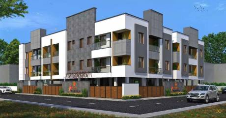 900 sqft, 2 bhk Apartment in GP Magnolia Ayanambakkam, Chennai at Rs. 45.0000 Lacs