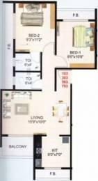 1000 sqft, 2 bhk Apartment in Hi Tech Gulmohar Heights Ulwe, Mumbai at Rs. 65.0000 Lacs