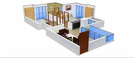1175 sqft, 2 bhk Apartment in Griha Griha Pravesh Sector 77, Noida at Rs. 14000