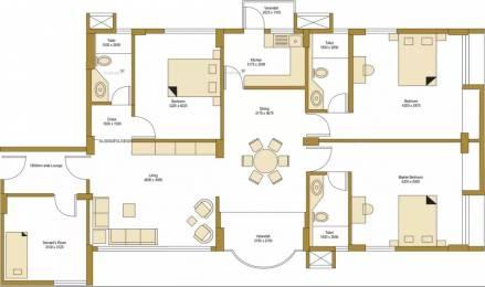 1896 sqft, 3 bhk Apartment in Bengal Peerless Avidipta Mukundapur, Kolkata at Rs. 55000