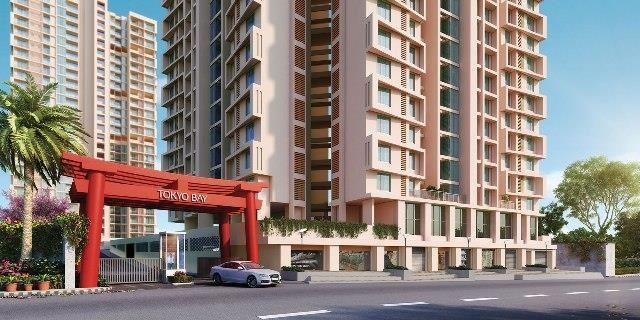 438 sqft, 1 bhk Apartment in Puraniks Tokyo Bay Thane West, Mumbai at Rs. 61.2600 Lacs
