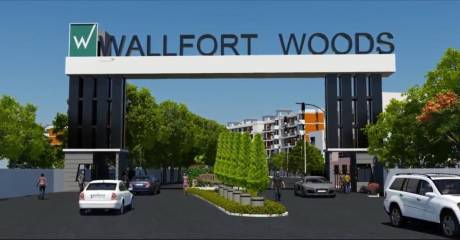 1055 sqft, 2 bhk Apartment in Builder WALLFORT WOODS Vidhan Sabha Road, Raipur at Rs. 27.3200 Lacs