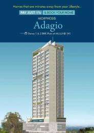 776 sqft, 1 bhk Apartment in Morphosis Adagio Mulund West, Mumbai at Rs. 92.0000 Lacs
