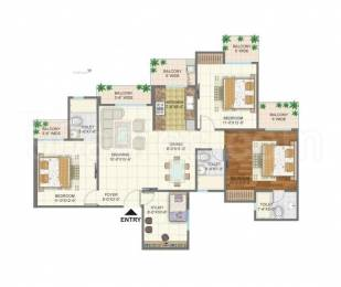 1495 sqft, 3 bhk Apartment in Arihant Arden Sector 1 Noida Extension, Greater Noida at Rs. 55.3150 Lacs