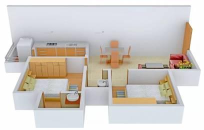 925 sqft, 2 bhk Apartment in Nebula Aavaas Changodar, Ahmedabad at Rs. 18.0000 Lacs