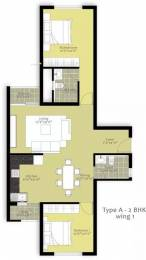 1021 sqft, 2 bhk Apartment in Nitesh Hyde Park Hulimavu, Bangalore at Rs. 20000