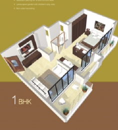 585 sqft, 1 bhk Apartment in Saakar Laxmi Apartment Umroli, Mumbai at Rs. 15.2100 Lacs