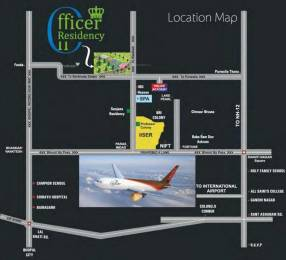 1260 sqft, Plot in Creative Officer Residency Bhauri, Bhopal at Rs. 8.5000 Lacs