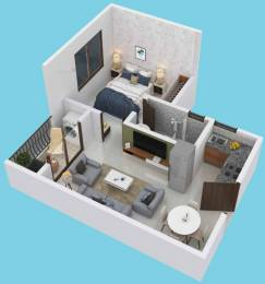 540 sqft, 1 bhk Apartment in Provident Adora De Goa 2 Vasco Da Gama, Goa at Rs. 31.0000 Lacs