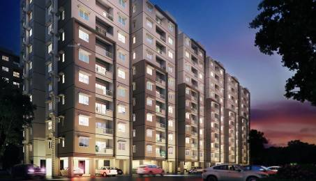1280 sqft, 3 bhk Apartment in Provident Kenworth Rajendra Nagar, Hyderabad at Rs. 61.4400 Lacs
