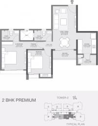 845 sqft, 2 bhk Apartment in Godrej Golf Meadows Godrej City Panvel, Mumbai at Rs. 67.0000 Lacs