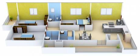 2189 sqft, 3 bhk Apartment in Jain Ravi Gayathri Heights Hitech City, Hyderabad at Rs. 45000