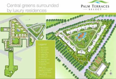 2410 sqft, 4 bhk Apartment in Emaar Palm Terraces Select Sector 66, Gurgaon at Rs. 58000