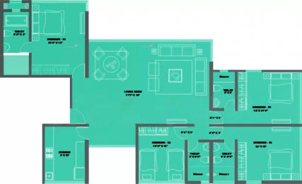 3640 sqft, 4 bhk Apartment in Suvidha Emerald Dadar West, Mumbai at Rs. 13.0000 Cr