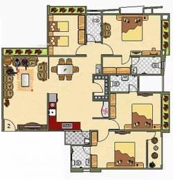 2525 sqft, 4 bhk Apartment in Happy Home Residency Vesu, Surat at Rs. 24000