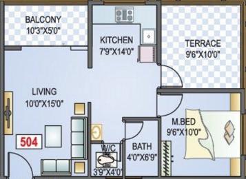 582 sqft, 1 bhk Apartment in Shree Sriroz Paradise II Chikhali, Pune at Rs. 29.0000 Lacs