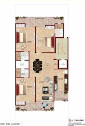 1443 sqft, 3 bhk BuilderFloor in Builder amanat 8 Sector 40, Gurgaon at Rs. 1.4000 Cr