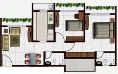 880 sqft, 2 bhk Apartment in Kakad Paradise Mira Road East, Mumbai at Rs. 64.1300 Lacs