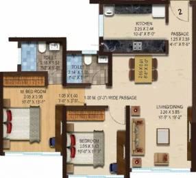 950 sqft, 2 bhk Apartment in ACME Boulevard Tower 4 Andheri East, Mumbai at Rs. 1.5200 Cr