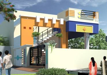 900 sqft, 2 bhk Villa in Builder mscp township Porur, Chennai at Rs. 55.0000 Lacs