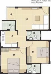945 sqft, 2 bhk Apartment in Rudra Aarambh Changodar, Ahmedabad at Rs. 25.0000 Lacs