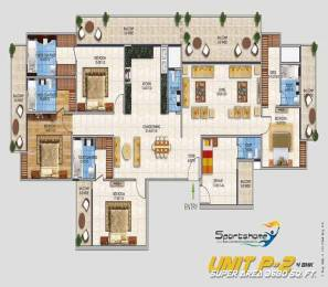 3680 sqft, 4 bhk Apartment in RSL Sports Home Sector 1 Noida Extension, Greater Noida at Rs. 1.2508 Cr