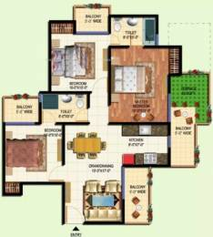 1185 sqft, 3 bhk Apartment in Amrapali Terrace Homes Techzone 4, Greater Noida at Rs. 36.0000 Lacs