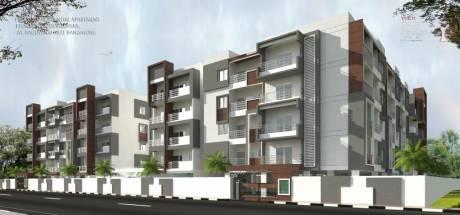 1375 sqft, 3 bhk Apartment in Builder VK Krishna Gardenia KSIT Engg College, Bangalore at Rs. 75.6000 Lacs