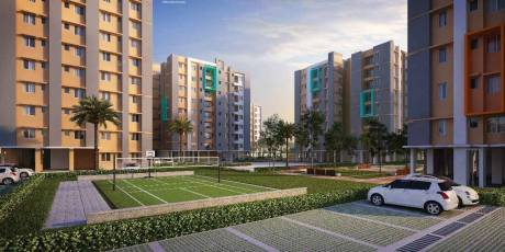596 sqft, 2 bhk Apartment in Signum Parkwoods Estate Hooghly Chinsurah, Kolkata at Rs. 14.3040 Lacs
