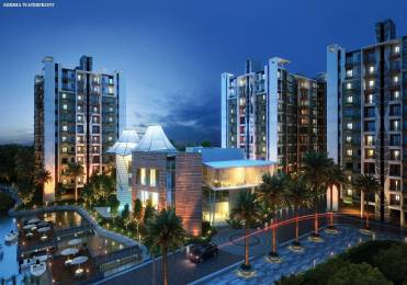 970 sqft, 2 bhk Apartment in Siddha Water Front Barrackpore, Kolkata at Rs. 26.4325 Lacs