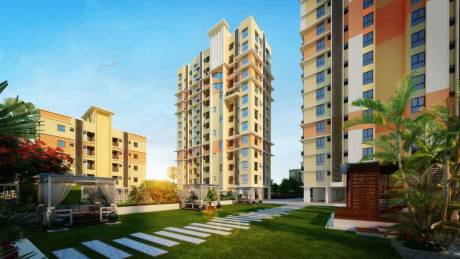 1755 sqft, 4 bhk Apartment in Shrachi Greenwood Nest New Town, Kolkata at Rs. 87.7500 Lacs