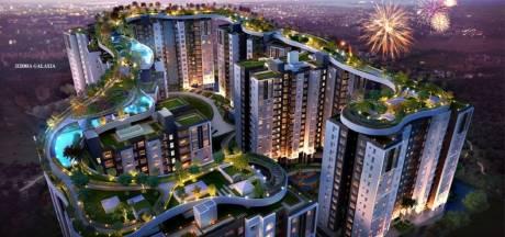 1085 sqft, 2 bhk Apartment in Siddha Galaxia 2 Rajarhat, Kolkata at Rs. 47.7400 Lacs