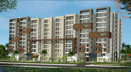 1430 sqft, 3 bhk Apartment in RNR Fort View Towers Attapur, Hyderabad at Rs. 54.3400 Lacs