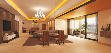 4043 sqft, 3 bhk Apartment in Sri Aditya Lifestyle Banjara Hills, Hyderabad at Rs. 4.8500 Cr