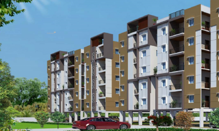 1130 sqft, 2 bhk Apartment in Sai Jyothi Constructions Hyderabad Keerthi Prime Chandanagar, Hyderabad at Rs. 64.0000 Lacs