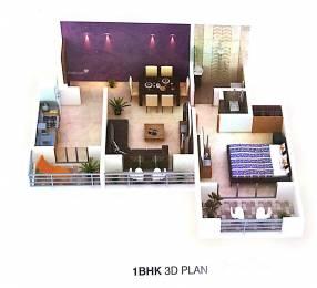 561 sqft, 1 bhk Apartment in Arihant City Phase II E Building Bhiwandi, Mumbai at Rs. 45.0000 Lacs