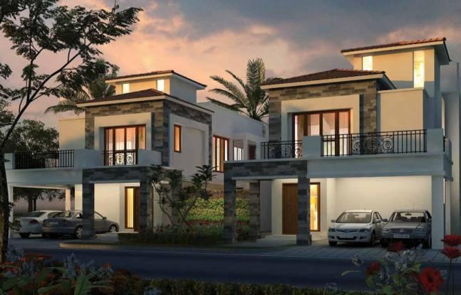 858 sqft, 2 bhk Villa in Builder Shigra Palms Devanagonthi, Bangalore at Rs. 46.1340 Lacs
