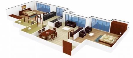 1010 sqft, 2 bhk Apartment in PNK Winstone Mira Road East, Mumbai at Rs. 78.7800 Lacs